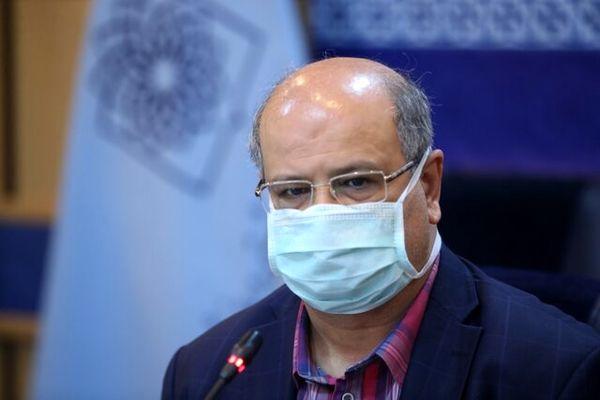 هشدار جدی زالی نسبت به وضعیت قرمز کرونا در سراسر تهران برای اولین بار