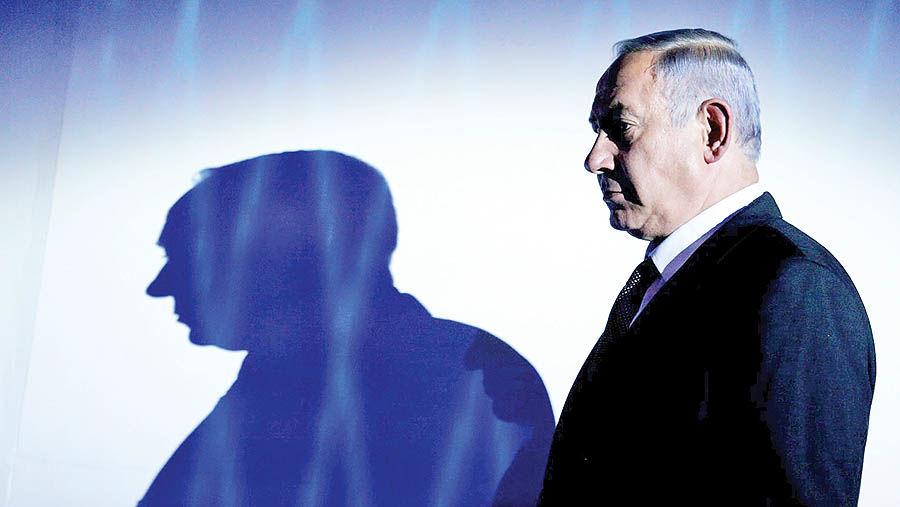 پلیس در تعقیب نتانیاهو