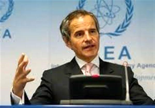 گروسی درپی دیدار با رئیس سازمان انرژی اتمی ایران