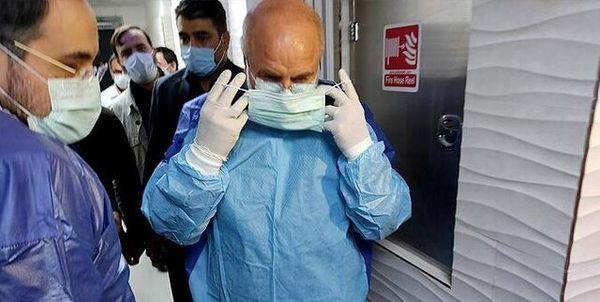 انتقاد شدید از حضور قالیباف در بخش بیماران کرونایی/ برندسازیهای شخصی را فربه نکنیم!
