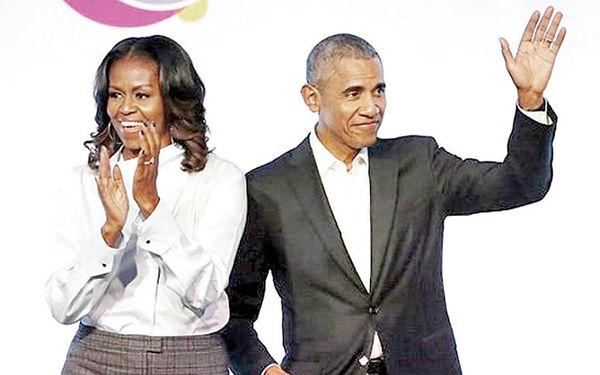 اوباما کمپانی تولید فیلم تاسیس کرد