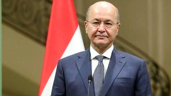 تکذیب اظهارات منتسب به برهم صالح درباره توافق با اسرائیل