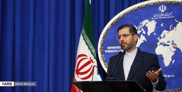 خطیبزاده: نشست ایران و ۱+۴ در دستور کار نیست