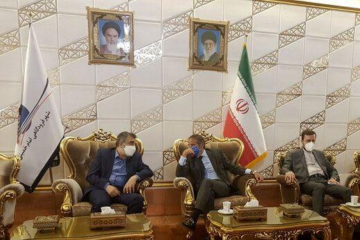رافائل گروسی در تهران/عکس
