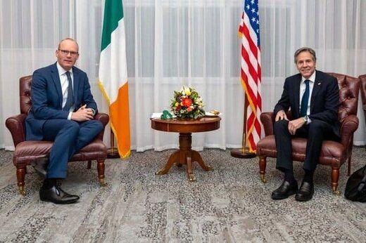 گفتوگوی وزیران خارجه آمریکا و ایرلند درباره برجام