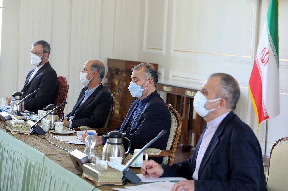 نشست مشترک وزرای خارجه و نیرو/عکس