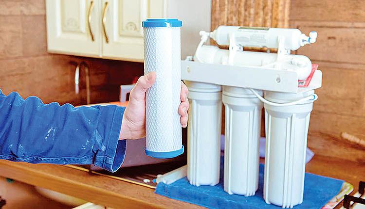 هزینه تصفیه آب در منزل