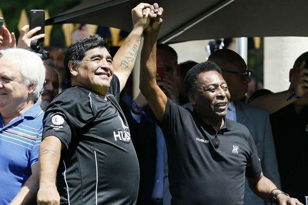 واکنش پله به درگذشت مارادونا