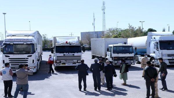 چهارمین محموله کمکهای ایران به افغانستان رسید