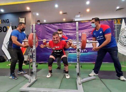 یک ایرانی نایب قهرمان کاپ جهانی پاورلیفتینگ شد