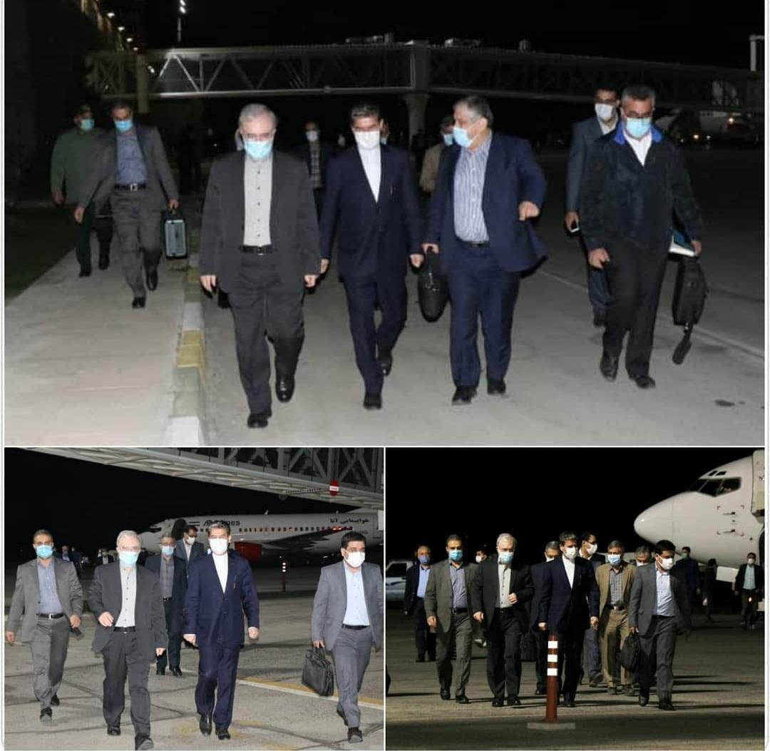 وزیر بهداشت شبانه به ارومیه رفت