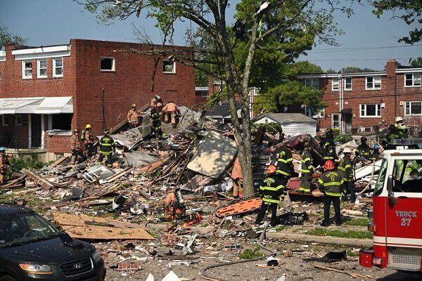 وقوع انفجار قدرتمند در آمریکا/ چند نفر کشته شدند؟