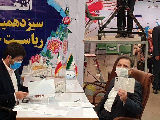 عباس آخوندی کاندیدای ریاست جمهوری شد +عکس