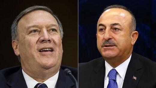 دعوای پمپئو با وزیر خارجه ترکیه در نشست محرمانه ناتو