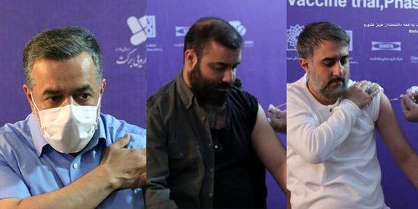 3 مداح سرشناس واکسن ایرانی برکت دریافت کردند+ عکس