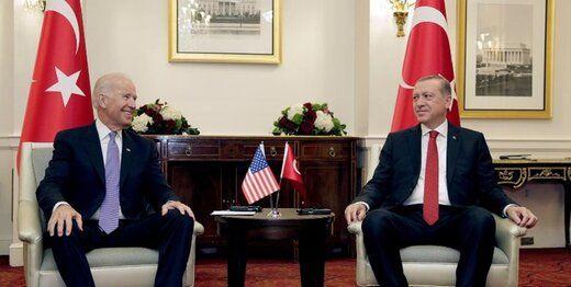 بایدن و اردوغان درباره ایران رایزنی می کنند