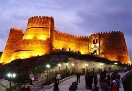قلعه فلکالافلاک آسیب ندیده است