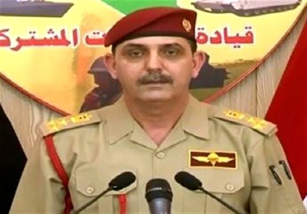 تاکید سخنگوی ارتش عراق درباره عادی بودن اوضاع امنیتی این کشور