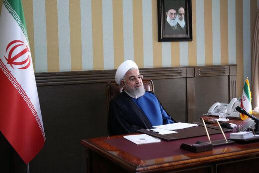 گفتگوی روحانی و رئیس کل بانک مرکزی درباره تامین ارز در روزهای شیوع کرونا