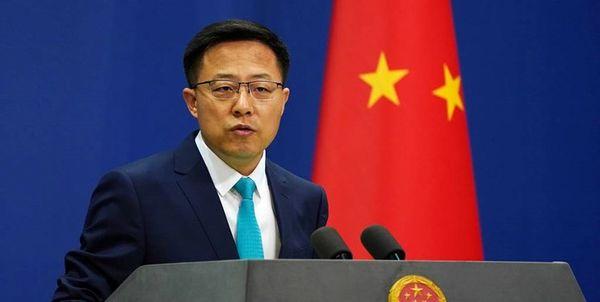 چین: آمریکا فوراً اقدامات تحریکآمیز خود را متوقف کند