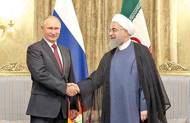 4 ماموریت پوتین در تهران