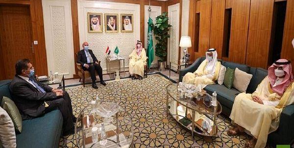 دیدار وزیر خارجه عراق با همتای سعودی