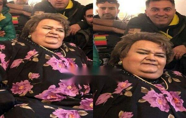 ببینید | اکبر عبدی دوباره زن شد