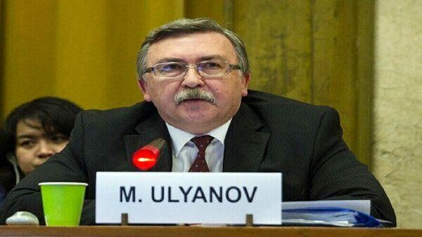 اولیانوف: مذاکرات برجام به تعویق افتاد
