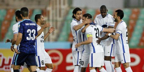 پیروزی استقلال مقابل پیکان در نیمه نخست
