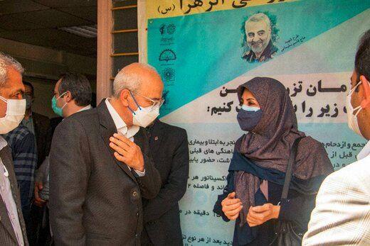 راهاندازی مرکز تجمیعی واکسیناسیون کرونا در منطقه ۱۲ تهران