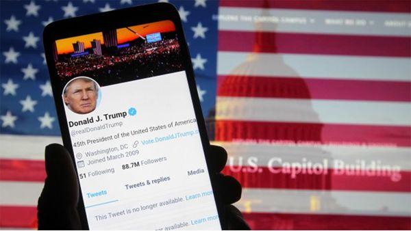 حساب کاربری ترامپ در توئیتر مجددا فعال شد