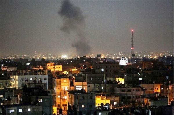 حملات هوایی رژیم صهیونیستی به نواز غزه