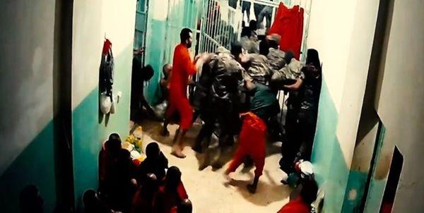 شورش زندانیان داعشی در شمال شرق سوریه