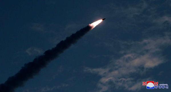 شلیک موشک بالستیک از خاک کره شمالی