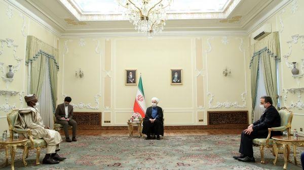 روحانی: ایران و نیجریه ظرفیت خوبی در زمینه تجاری و انرژی دارند