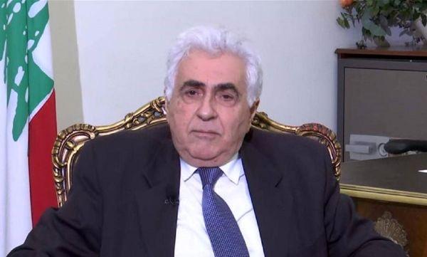 وزیر خارجه لبنان استعفا میدهد؟