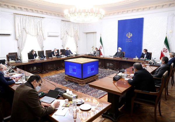 جلسه ستاد اقتصادی دولت با حضور روحانی