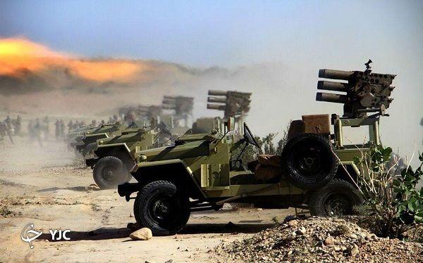 خط و نشان راکتهای نیروهای مسلح ایران برای دشمنان+ تصاویر