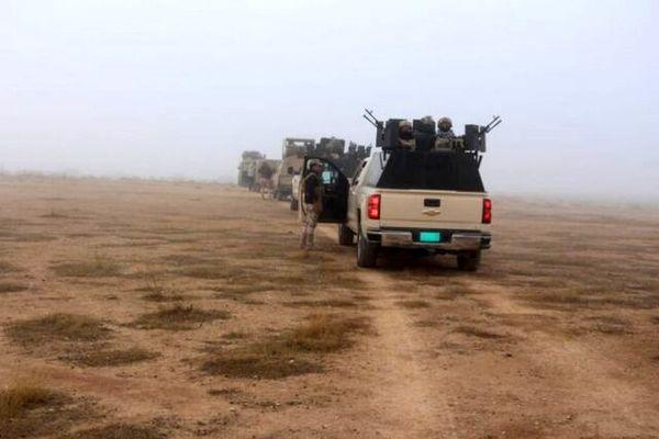 درگیری نیروهای عراقی با تروریستها در مرزهای این کشور با سوریه