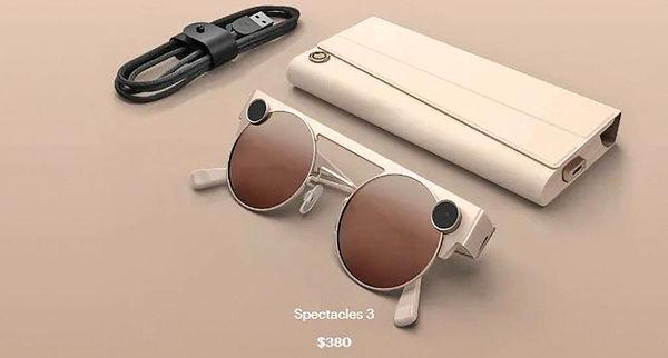 نسل سوم عینکهای واقعیت افزوده اسنپ