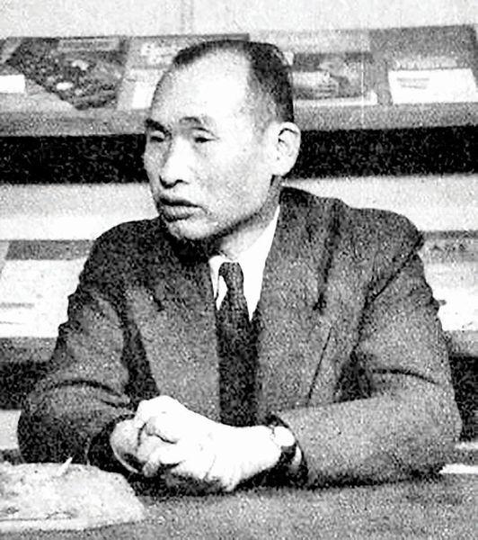 تاکایاناگی از پیشگامان تلویزیون در ژاپن