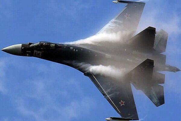 یک جنگنده روسیه سقوط کرد