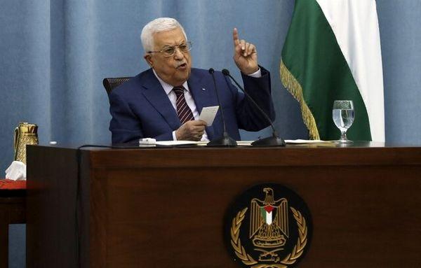 عباس خطاب به آمریکا و اسرائیل: از ما دور شوید!