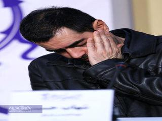 عکسهای چهره برآشفته و خشمگین شهاب حسینی