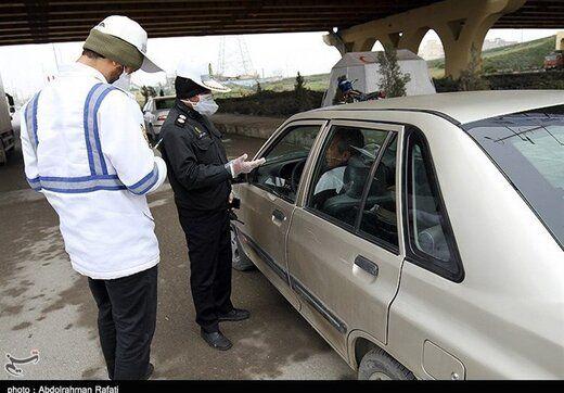 چند خودرو در تهران بخاطر ماسک نزدن جریمه شدند؟