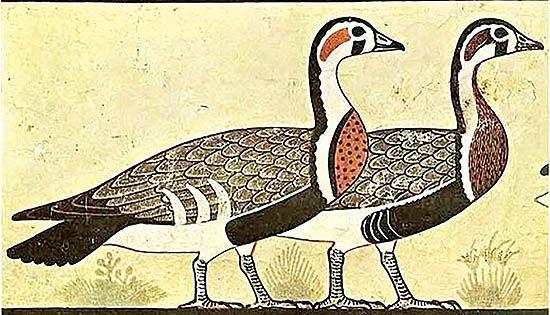 کشف راز یک نقاشی باستانی در مصر