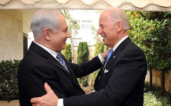 ابراز علاقه عجیب توئیتری نتانیاهو برای بایدن