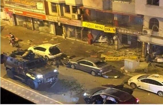 انفجار مهیب ترکیه را لرزاند
