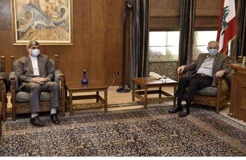 گفتوگوی سفیر ایران با رئیس پارلمان لبنان