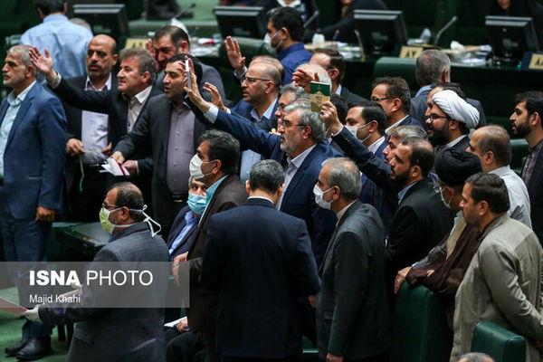 مجلس دقایقی به تنش کشیده شد